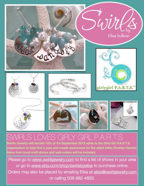 Swirls Jewelry Loves Girly Girl P.A.R.T.S!!!
